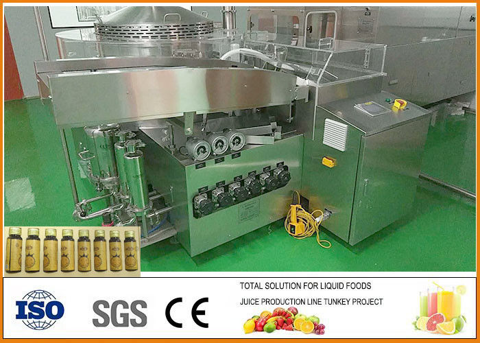 3000 Bottles Of 50Ml Anthocyanin Concentrate Oral Liquid Production Line Per Hour